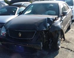 クラウン事故車