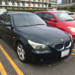 BMW 525i車検なし、故障あり